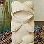 石彫り あんぐりカエル 「バリ雑貨『テラコッタ&ストーン』」