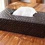 パンダン ティッシュケース ブラック 「バリ雑貨『パンダン&ウォーターヒヤシンス』」