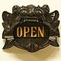 バロン ドアプレート 『オープン』 「ウォールインテリア(壁掛け)」