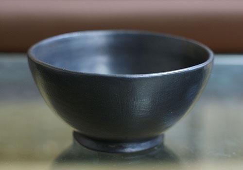 テラコッタ エステボウルM ブラック 「バリ雑貨『テラコッタ&ストーン』」