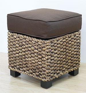 ヒヤシンス スクエアスツール 「スツール&ベンチ『アジアン家具』」