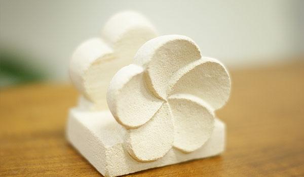 石彫り プルメリア カードホルダー 「バリ雑貨『テラコッタ&ストーン』」