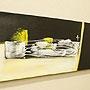 バリ絵画 モダンスタイルアート100×35 02 「バリ絵画『モダンスタイルアート』」