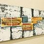 バリ絵画 モダンスタイルアート100×35 05 「バリ絵画『モダンスタイルアート』」