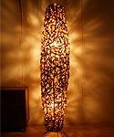 バンブー フロアランプA 150 ナチュラル 「アジアンランプ&照明」