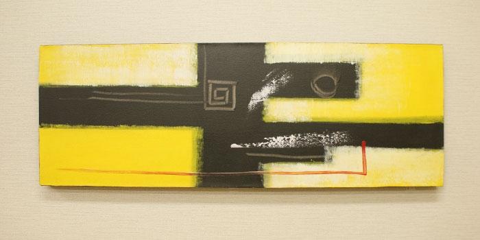 バリ絵画 モダンスタイルアート100×35 01 「バリ絵画『モダンスタイルアート』」