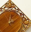 アジアンリゾート壁掛け時計 D ナチュラル 「壁掛け時計」