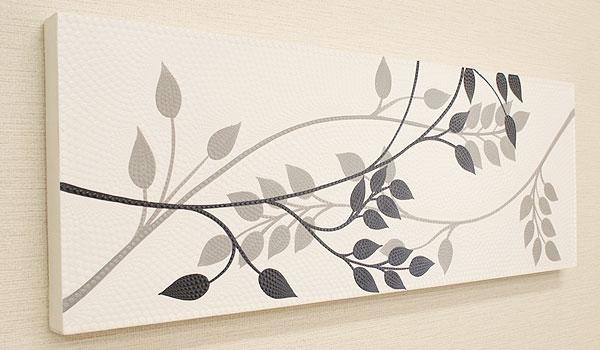 バリ絵画 ドットアート 100x35 P04 「バリ絵画『ドットアート』」