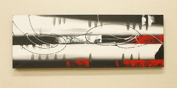 バリ絵画 モダンスタイルアート100×35 18 「バリ絵画『モダンスタイルアート』」
