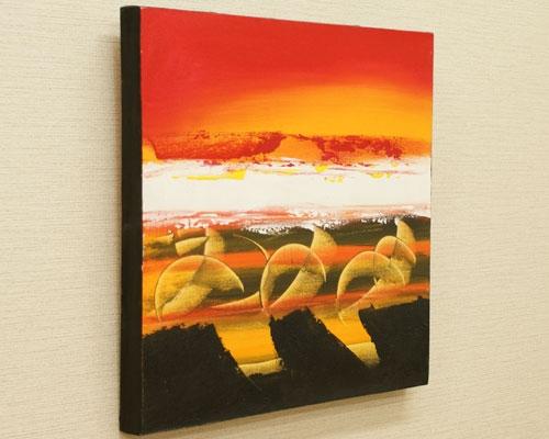 バリ絵画 モダンスタイルアート45×45 08B 「バリ絵画『モダンスタイルアート』」
