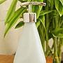 フロストガラス ボトルディスペンサー 「フラワーベース」