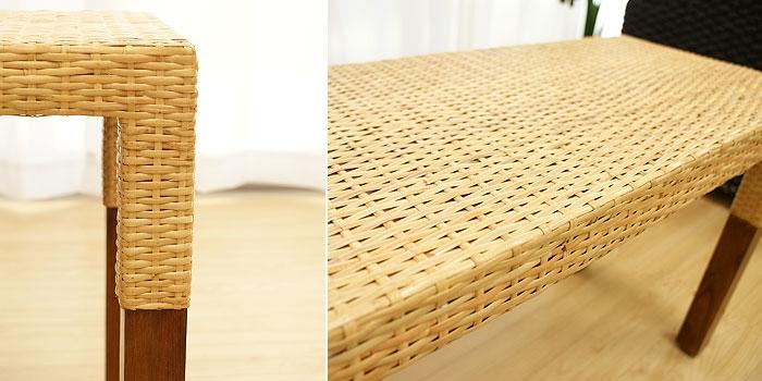 ラタン サイドボード ナチュラル 「ローテーブル&サイドテーブル『アジアン家具』」