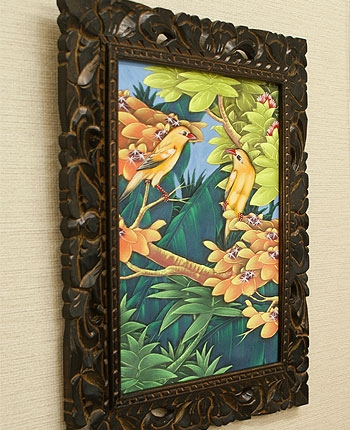 バリ絵画 ブンゴセカン11 「バリ絵画『ブンゴセカンスタイル』」