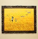 バリ島 風景画 油絵 XL01 「バリ島の風景画『ライステラス、トロピカルビーチなど』」