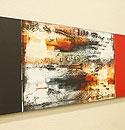 バリ絵画 モダンスタイルアート120×45 14 「バリ絵画『モダンスタイルアート』」