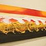 バリ絵画 モダンアート120×45 12 「バリ絵画『モダンスタイルアート』」