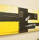 バリ絵画 モダンスタイルアート120×45 01 「バリ絵画『モダンスタイルアート』」