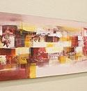 バリ絵画 モダンスタイルアート120×45 23 「バリ絵画『モダンスタイルアート』」