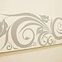 バリ絵画 ドットアート140x45 C モノトーン 「バリ絵画『ドットアート』」