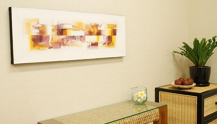 バリ絵画 モダンスタイルアート100×35 21 「バリ絵画『モダンスタイルアート』」