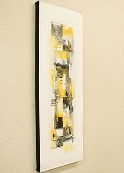 バリ絵画 モダンスタイルアート100×35 22 「バリ絵画『モダンスタイルアート』」