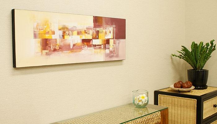 バリ絵画 モダンスタイルアート100×35 23 「バリ絵画『モダンスタイルアート』」