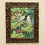 バリ絵画 ブンゴセカン20 「バリ絵画『ブンゴセカンスタイル』」