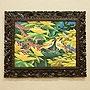 バリ絵画 ブンゴセカン21 「バリ絵画『ブンゴセカンスタイル』」