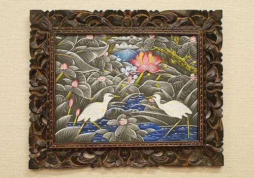 バリ絵画 ブンゴセカン22 「バリ絵画『ブンゴセカンスタイル』」
