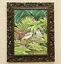 バリ絵画 ブンゴセカン23 「バリ絵画『ブンゴセカンスタイル』」