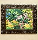 バリ絵画 ブンゴセカン24 「バリ絵画『ブンゴセカンスタイル』」