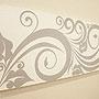 バリ絵画 ドットアート 120x45 C モノトーン 「」