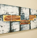 バリ絵画 モダンスタイルアート120×45 05 「バリ絵画『モダンスタイルアート』」