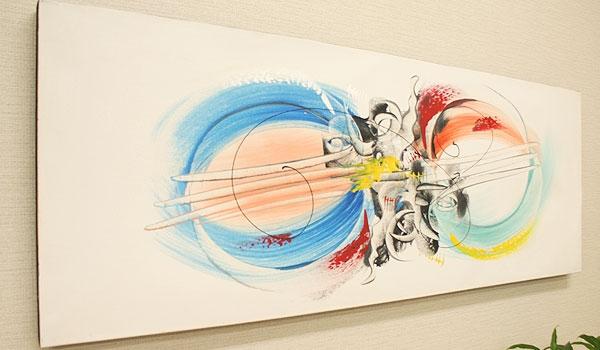 バリ 絵画 壁掛け モダン アート
