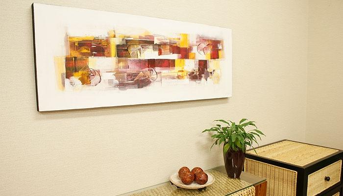 バリ絵画 モダンスタイルアート120×45 21 「バリ絵画『モダンスタイルアート』」