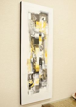 バリ絵画 モダンスタイルアート120×45 22 「バリ絵画『モダンスタイルアート』」
