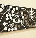 バリ絵画 ドットアート100x35 Vbk 「バリ絵画『ドットアート』」