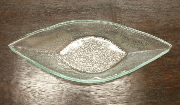 ガラス ボートトレイ 「バリ雑貨『陶器&ガラス』」