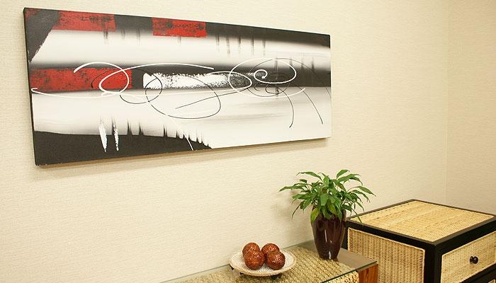 バリ絵画 モダンスタイルアート120×45 18 「バリ絵画『モダンスタイルアート』」