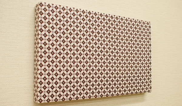 ファブリックパネル バティック06 50×30 「ファブリックパネル」