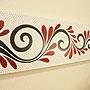 バリ絵画 ドットアート100x35 Ab02 「バリ絵画『ドットアート』」