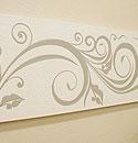 バリ絵画 ドットアート 120×45 C02 モノトーン 「バリ絵画『ドットアート』」