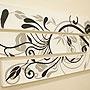 バリ絵画 3連ドットアート SU-01 「バリ絵画『ドットアート』」
