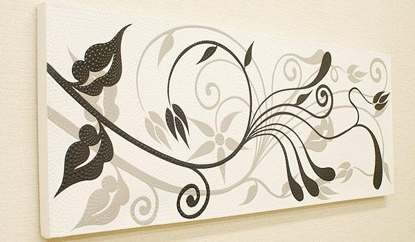 バリ絵画 ドットアート 120×45 SU-01 「バリ絵画『ドットアート』」