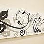 バリ絵画 ドットアート100×35 SU-01 「バリ絵画・アジアンアート」