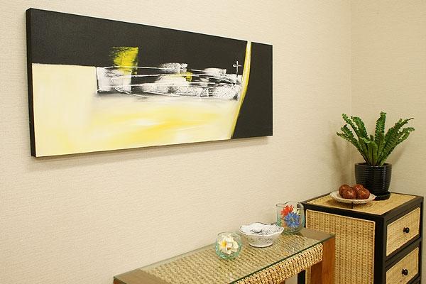 バリ絵画 モダンスタイルアート120×45 02 「バリ絵画『モダンスタイルアート』」
