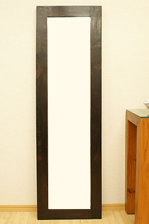 アジアンレリーフ ミラー 45×150 D 「壁掛けミラー」