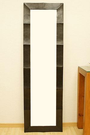 アジアンレリーフ ミラー 45×150 C 「壁掛けミラー」