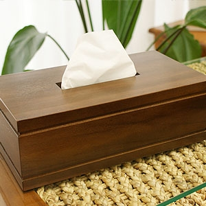 アジアン 木製 ティッシュケース おしゃれ