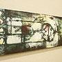 バリ絵画 モダンスタイルアート100×35 24 「」